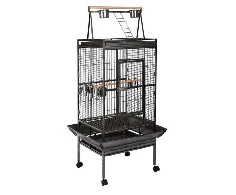Large Bird Cage - Black -173cm