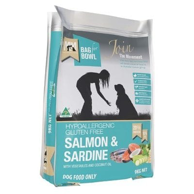 meals for mutts salmon & sardine gluten free 9kg