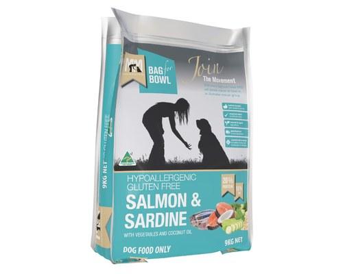 meals for mutts salmon & sardine gluten free 9kg