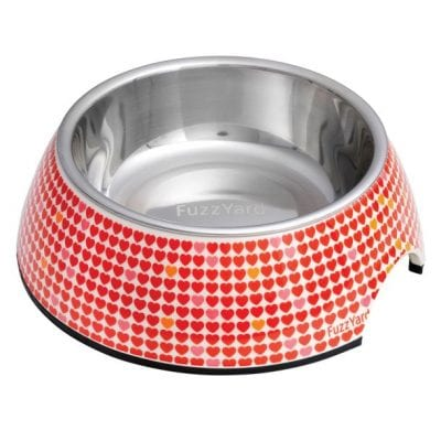 FuzzYard Love Love Easy Feeder Pet Bowl